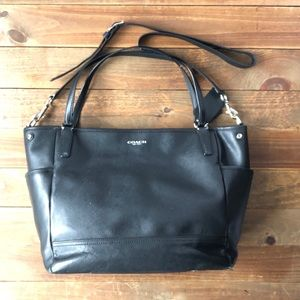COACH Saffiano Leather Baby Bag